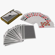 Playing Cards Set 3d model