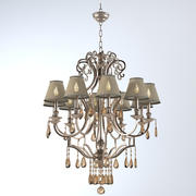 John Richard 10 Light Chandelier AJC-8729 3d model