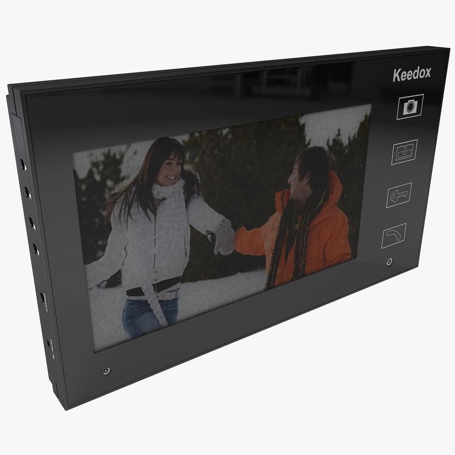 비디오 인터콤 KEEDOX royalty-free 3d model - Preview no. 1