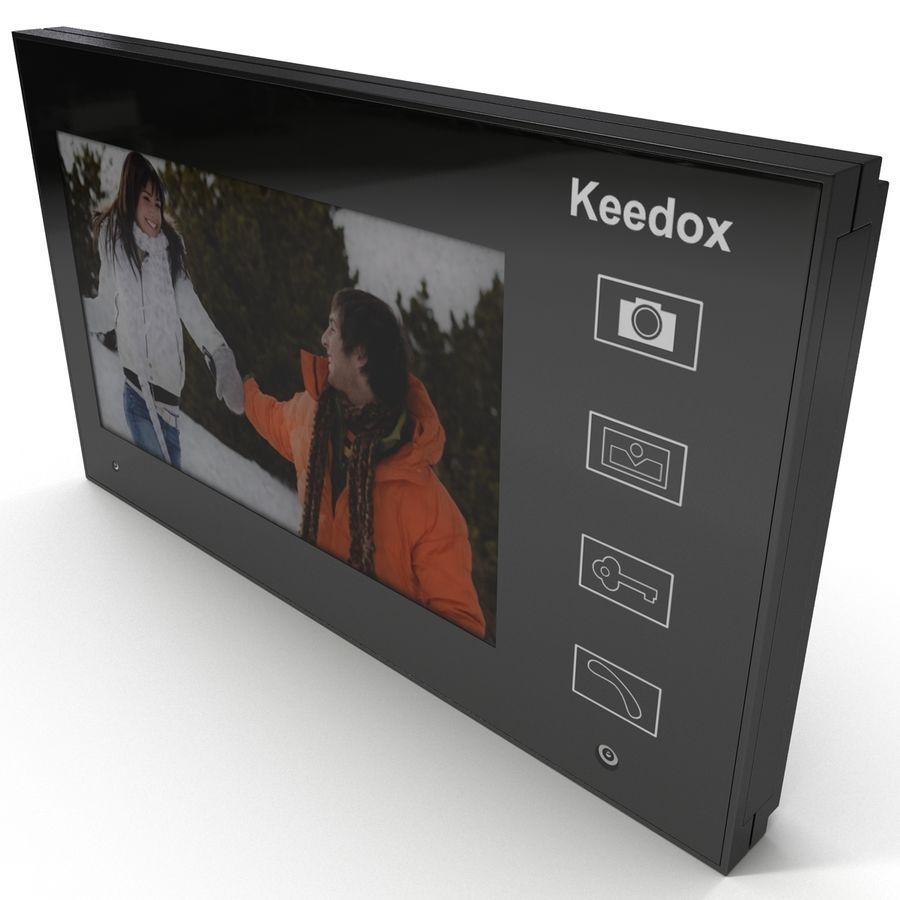 비디오 인터콤 KEEDOX royalty-free 3d model - Preview no. 10