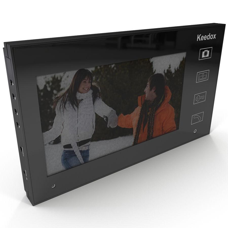 비디오 인터콤 KEEDOX royalty-free 3d model - Preview no. 2