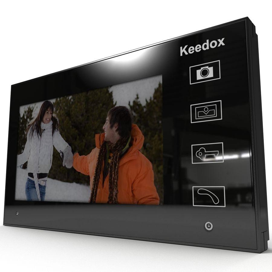 비디오 인터콤 KEEDOX royalty-free 3d model - Preview no. 16