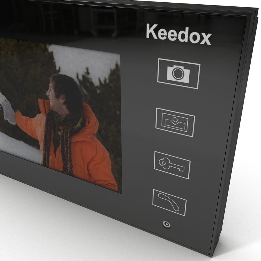 비디오 인터콤 KEEDOX royalty-free 3d model - Preview no. 17