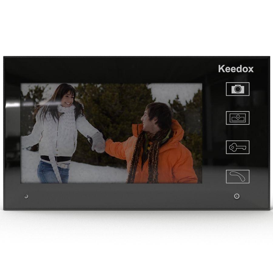 비디오 인터콤 KEEDOX royalty-free 3d model - Preview no. 3