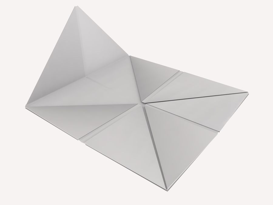Origami royalty-free 3d model - Preview no. 15