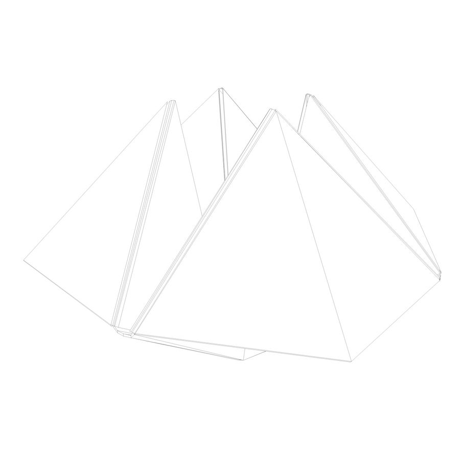 Origami royalty-free 3d model - Preview no. 12