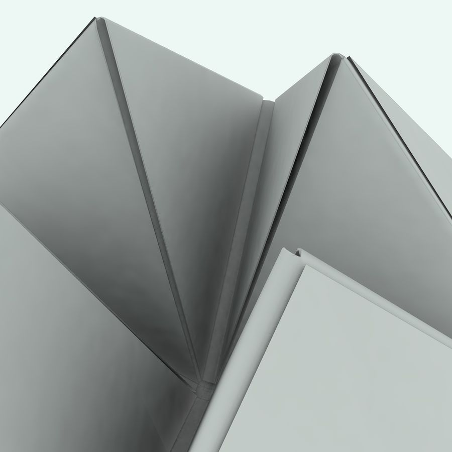 Origami royalty-free 3d model - Preview no. 1