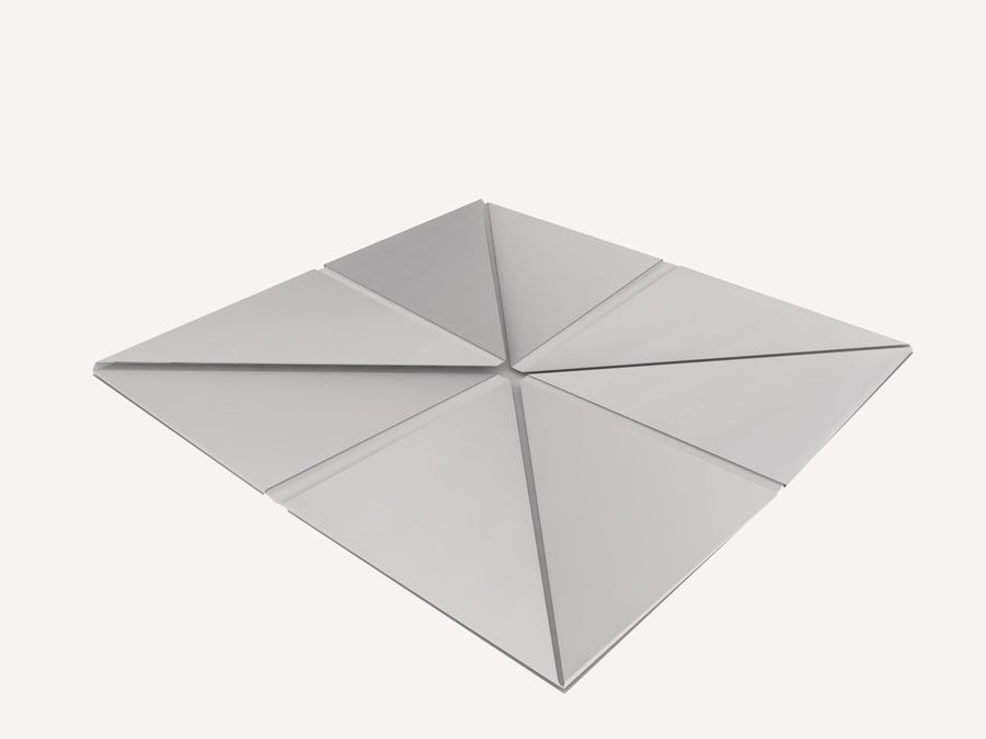 Origami royalty-free 3d model - Preview no. 14