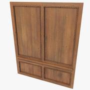 Painéis de madeira 3d model