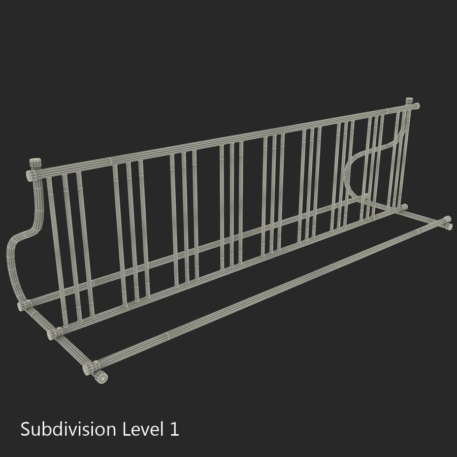 Fietsenstalling royalty-free 3d model - Preview no. 3