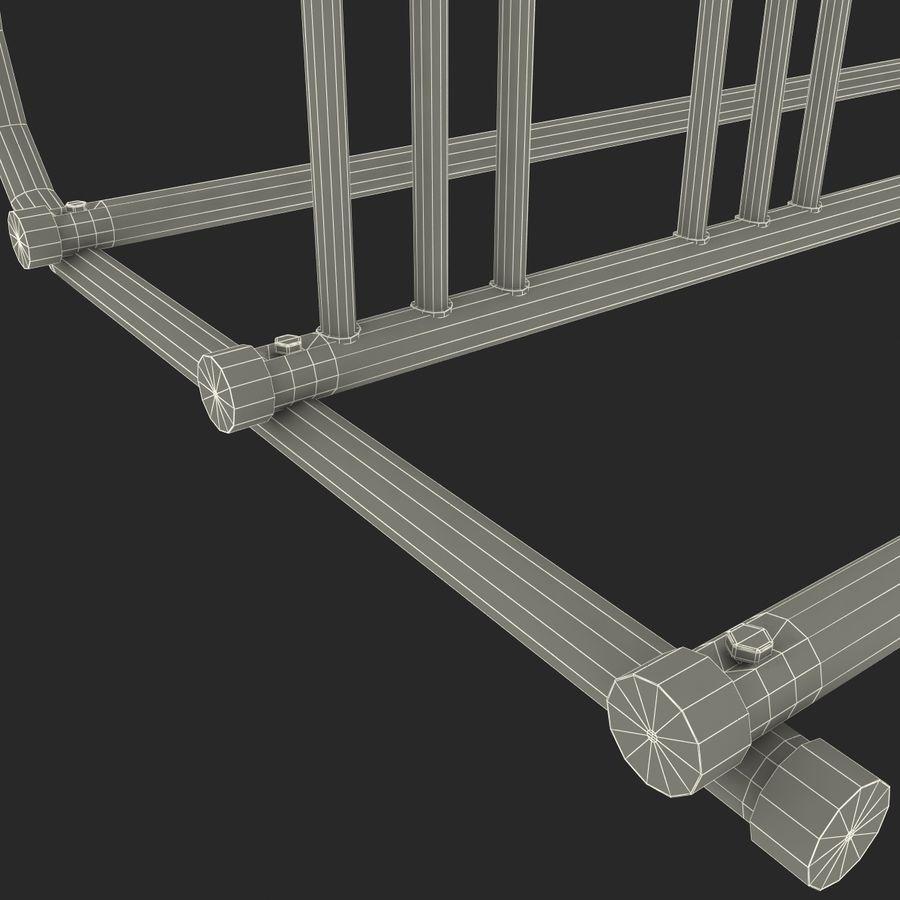 Fietsenstalling royalty-free 3d model - Preview no. 21