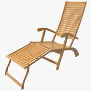 Chaise Lounge Beach Chair 3d model