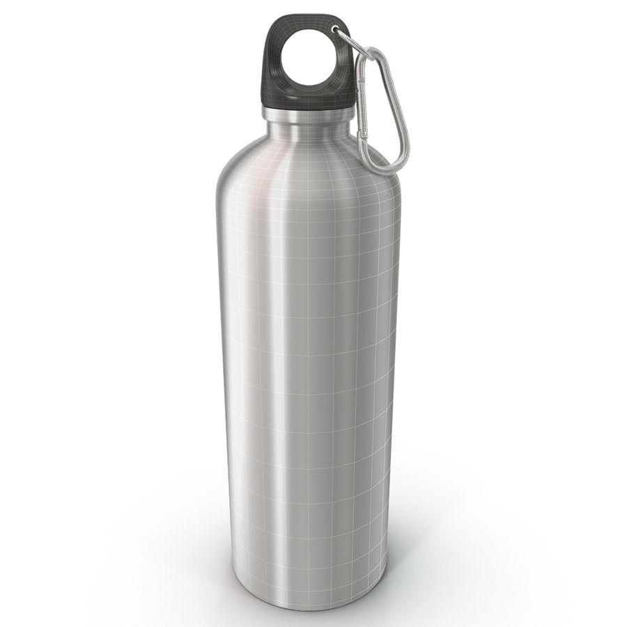 Reusable Aluminium Water Bottle royalty-free 3d model - Preview no. 1