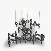 BMF vintage candleholders 3d model