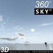 Sky 3D Day 125 3d model