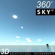 Gökyüzü 3D Günü 130 3d model