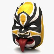 Asiatisk mask 3d model