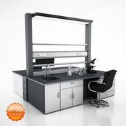 Laboratorium tafel 3d model