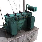 Transformer Low Poly 3d model