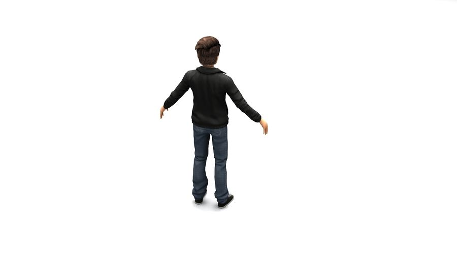 Male boy guy Character royalty-free 3d model - Preview no. 2