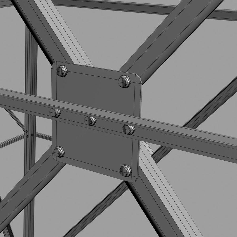 Electricity Pylon royalty-free 3d model - Preview no. 10