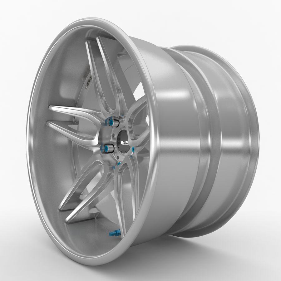 ADV Wheel royalty-free 3d model - Preview no. 2