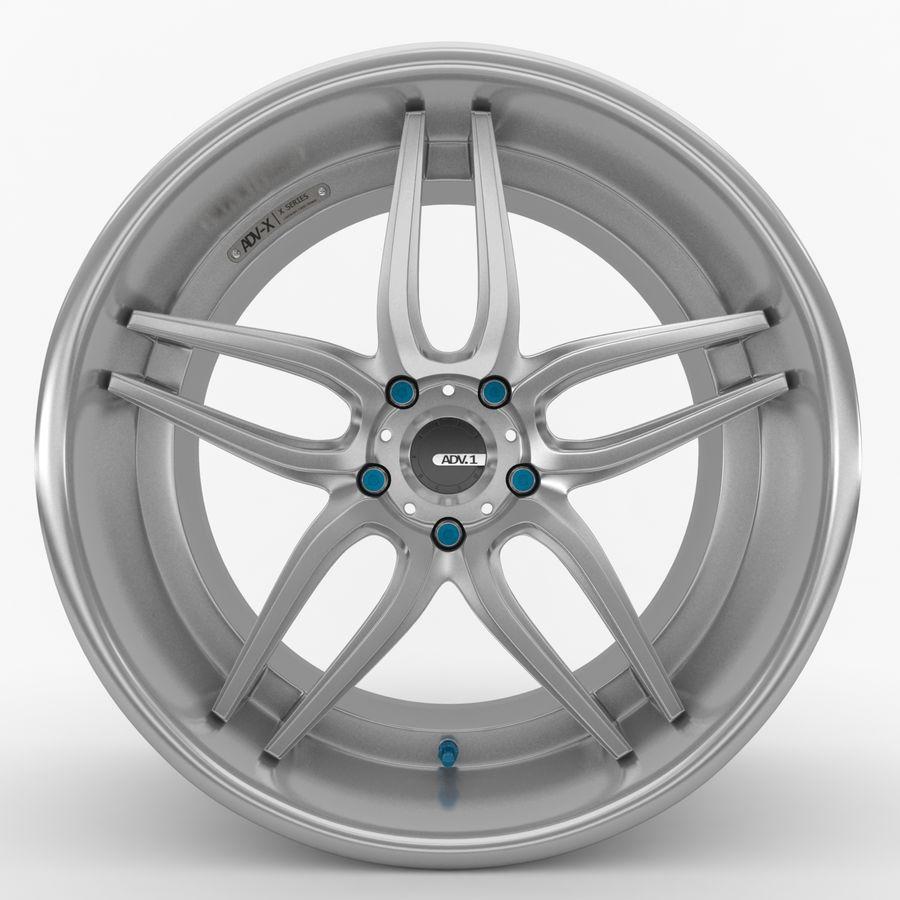 ADV Wheel royalty-free 3d model - Preview no. 1
