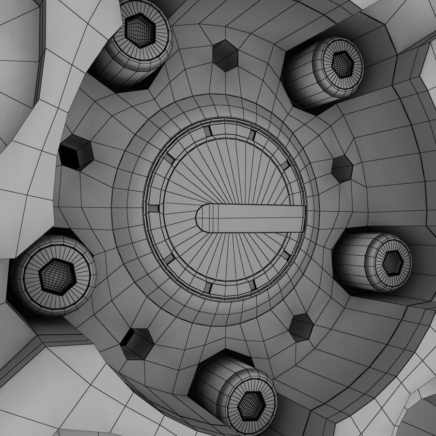 ADV Wheel royalty-free 3d model - Preview no. 9