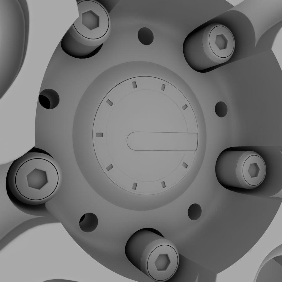 ADV Wheel royalty-free 3d model - Preview no. 10