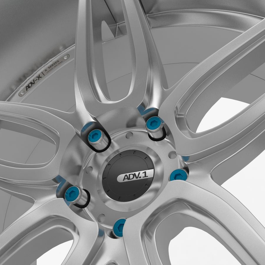 ADV Wheel royalty-free 3d model - Preview no. 4