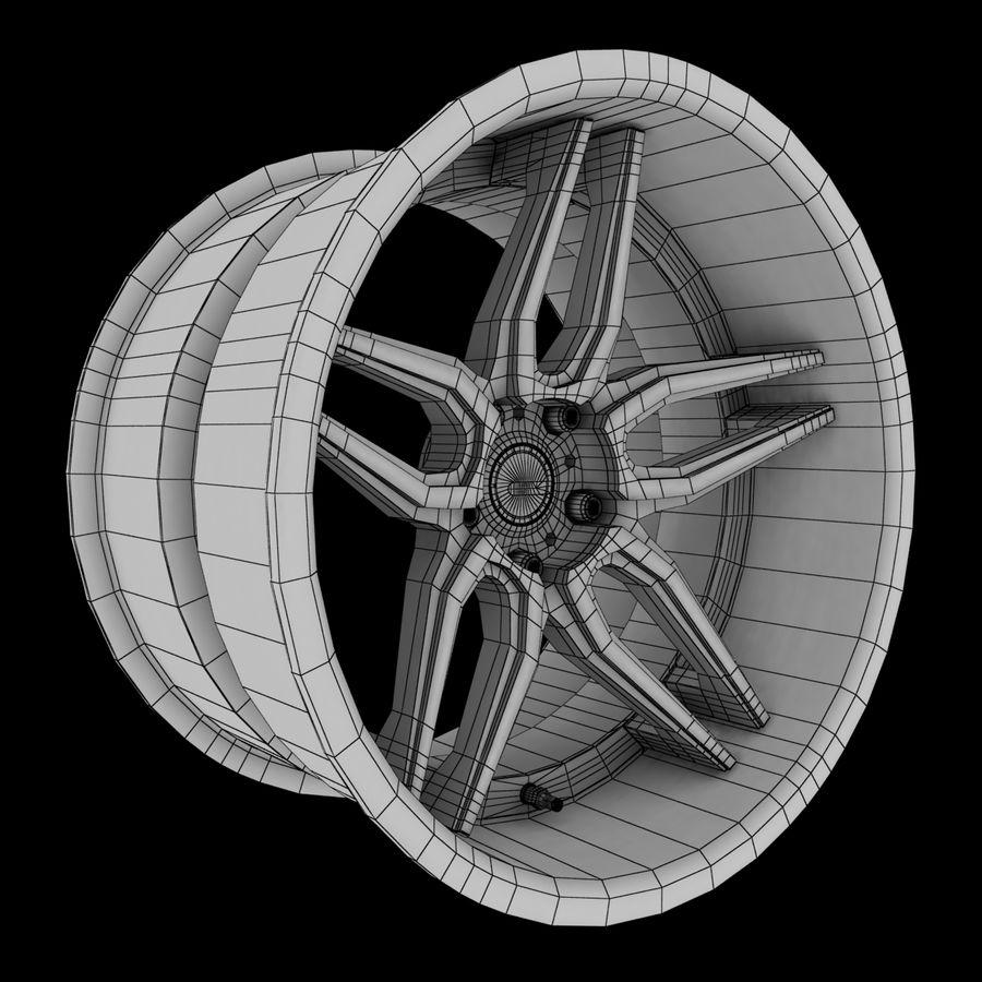ADV Wheel royalty-free 3d model - Preview no. 5
