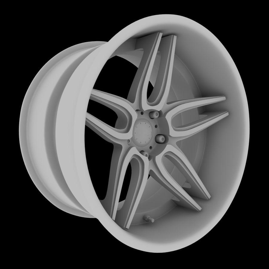 ADV Wheel royalty-free 3d model - Preview no. 6