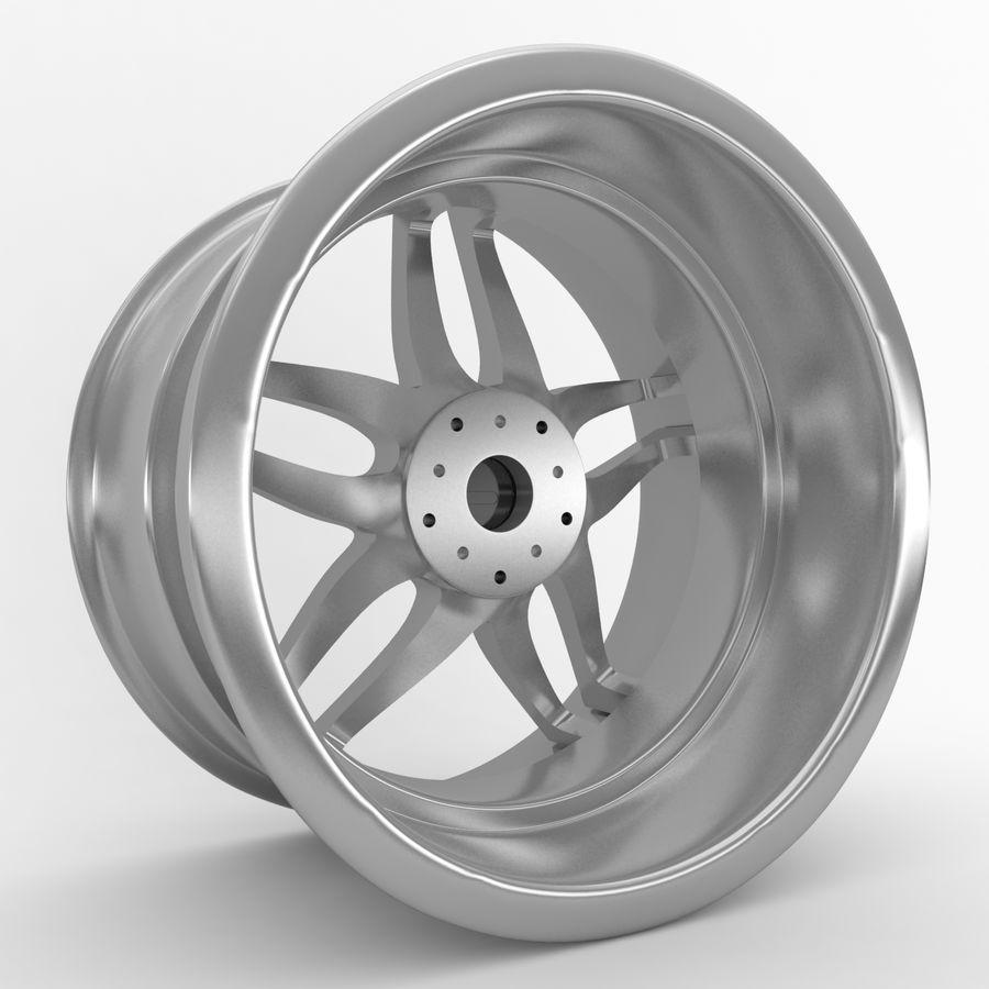 ADV Wheel royalty-free 3d model - Preview no. 3