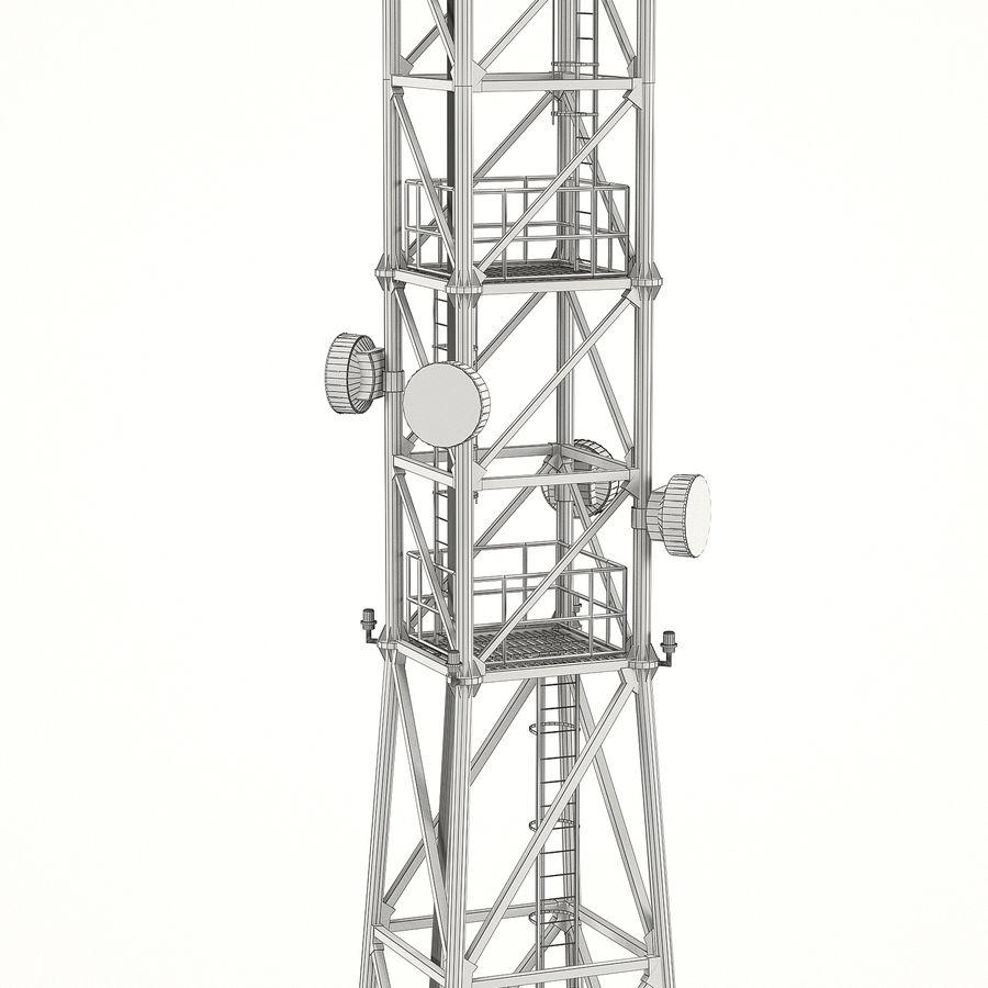 通信塔 royalty-free 3d model - Preview no. 7