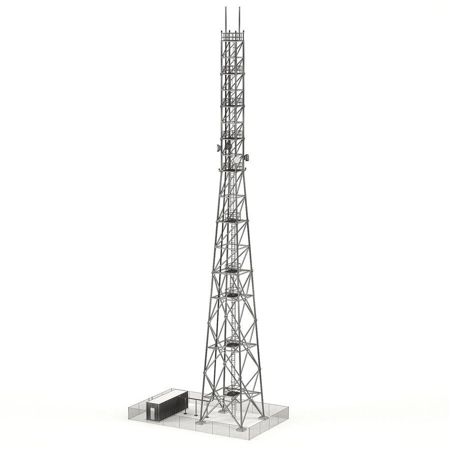 通信塔 royalty-free 3d model - Preview no. 3