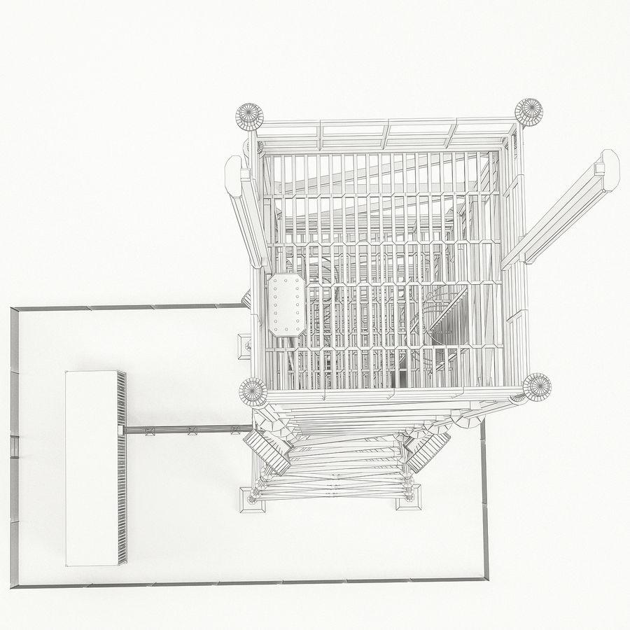 通信塔 royalty-free 3d model - Preview no. 17