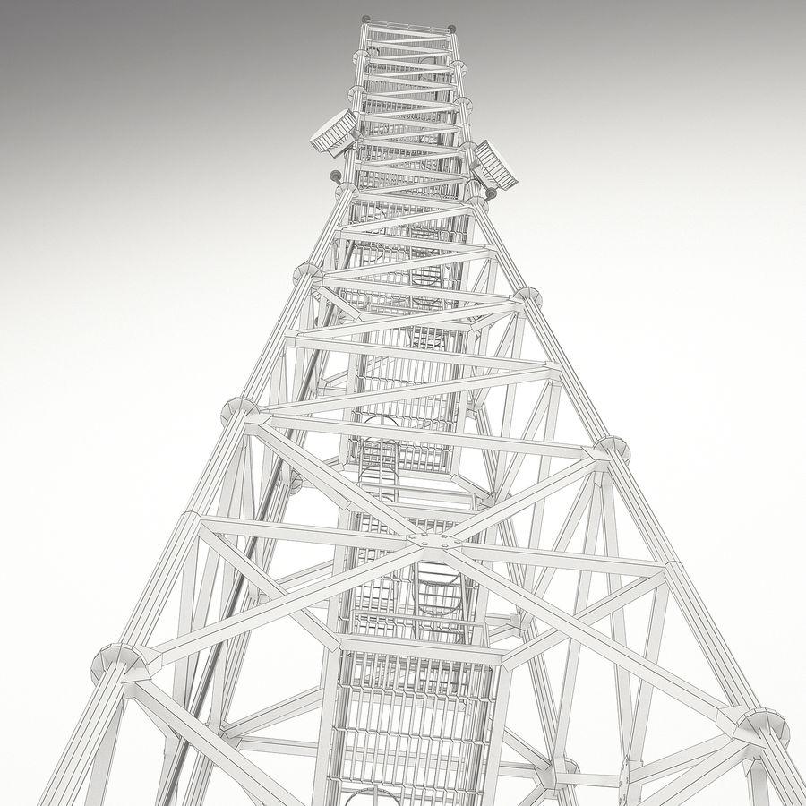 通信塔 royalty-free 3d model - Preview no. 15