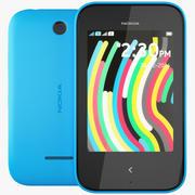 Nokia Asha 230 Cyan 3d model