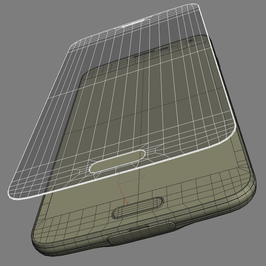 Samsung GALAXY S5 royalty-free 3d model - Preview no. 28