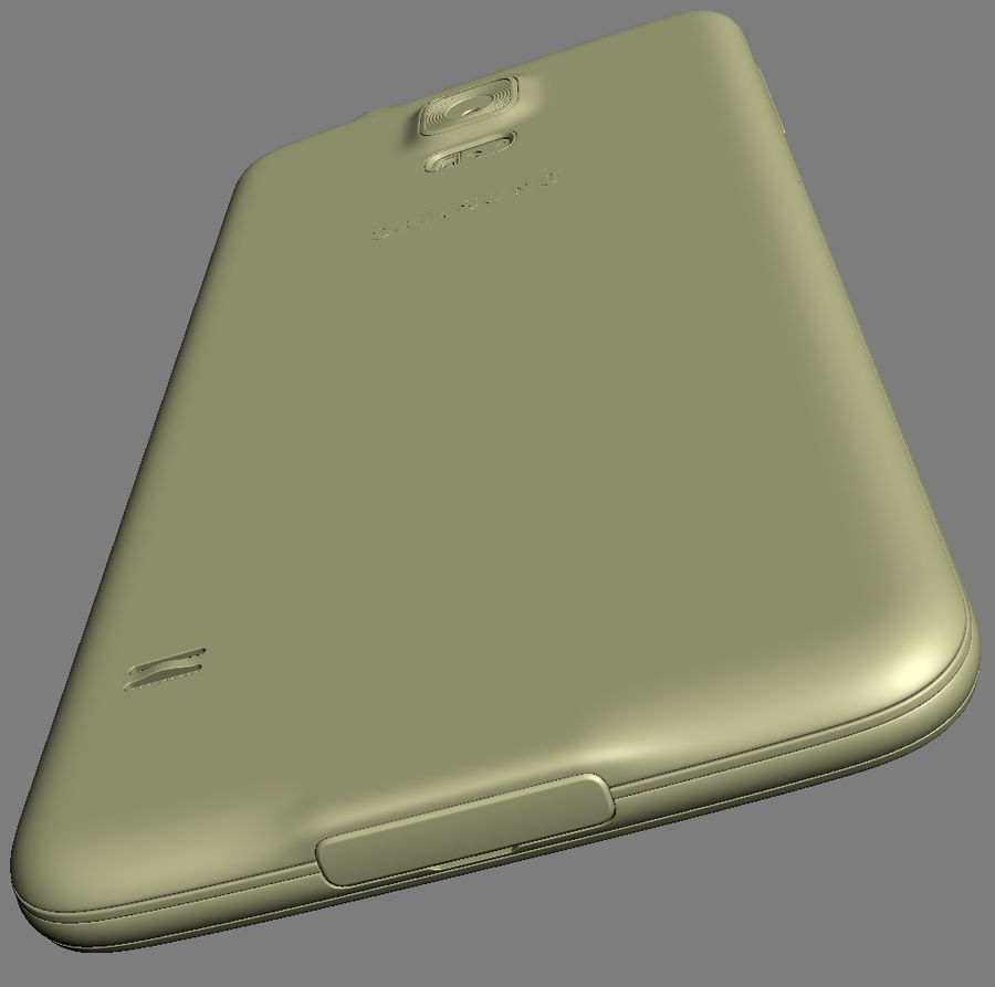 Samsung GALAXY S5 royalty-free 3d model - Preview no. 24