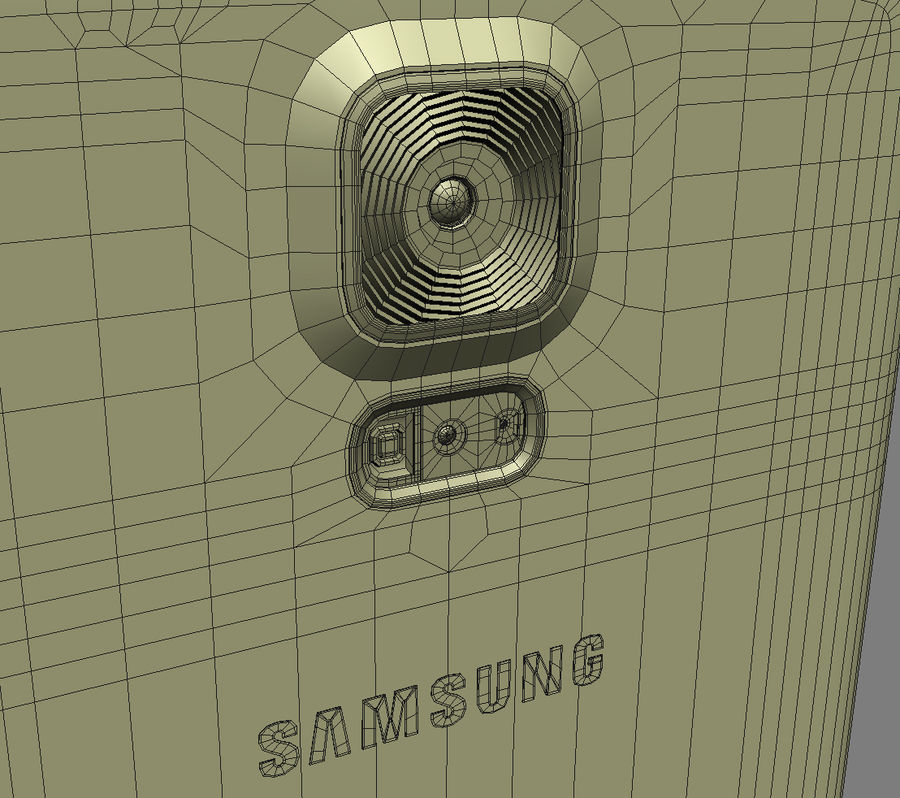Samsung GALAXY S5 royalty-free 3d model - Preview no. 30