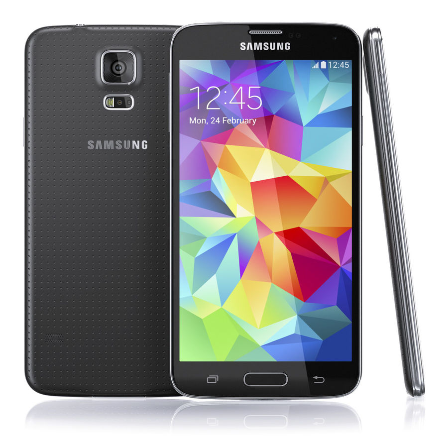 Samsung GALAXY S5 royalty-free 3d model - Preview no. 2