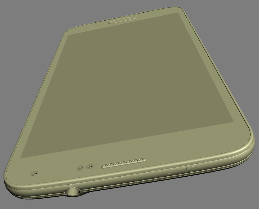 Samsung GALAXY S5 royalty-free 3d model - Preview no. 26