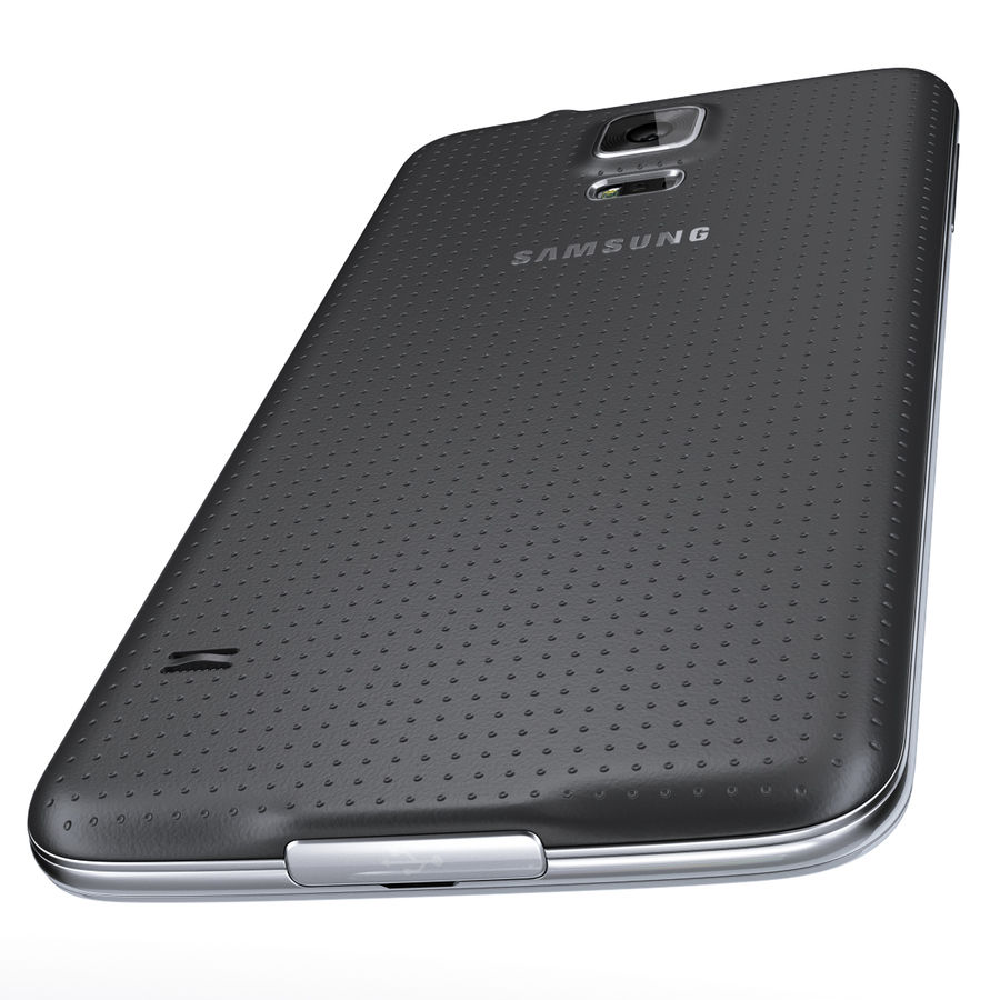 Samsung GALAXY S5 royalty-free 3d model - Preview no. 12