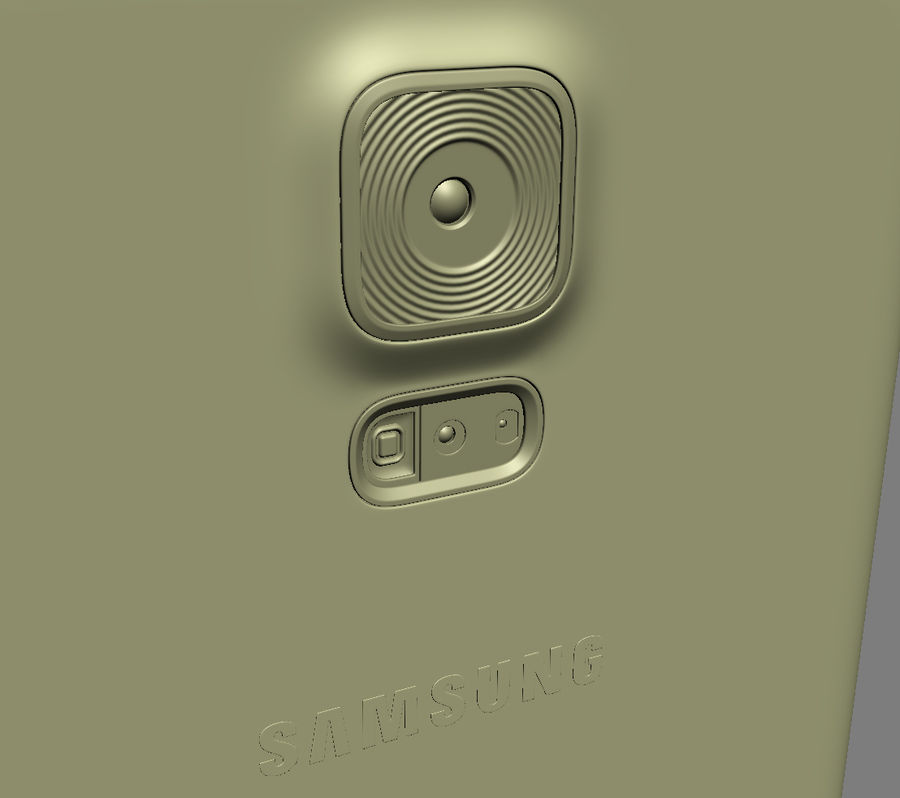 Samsung GALAXY S5 royalty-free 3d model - Preview no. 29
