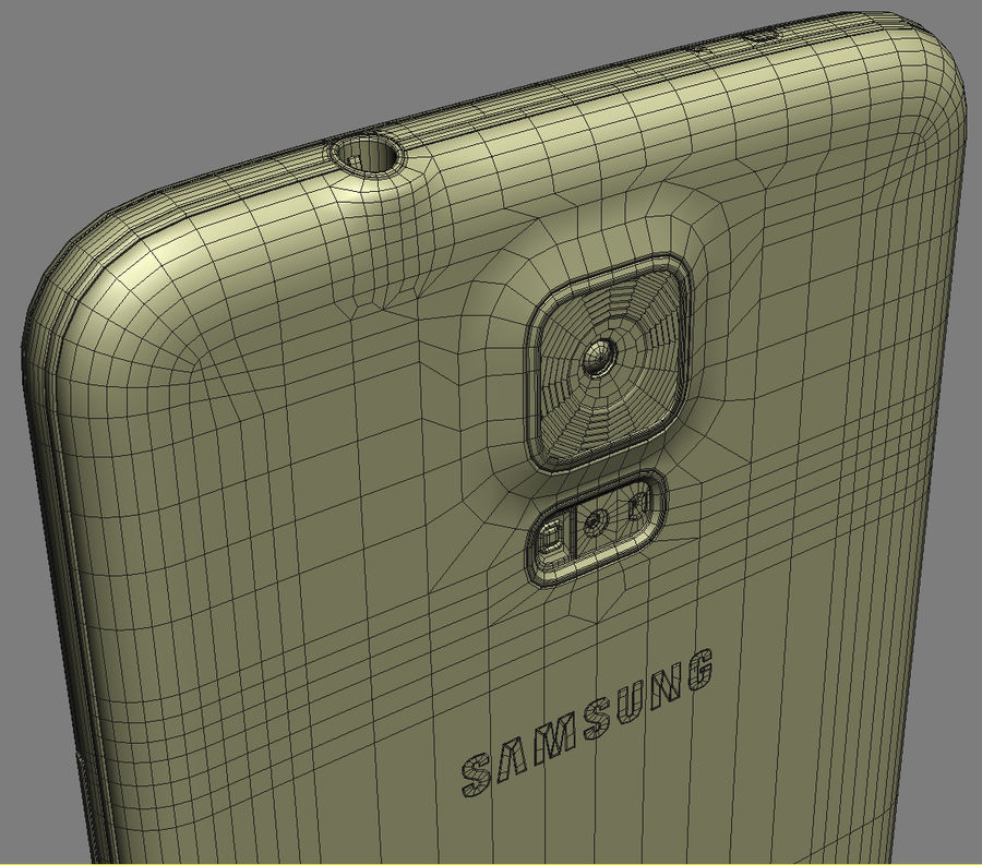 Samsung GALAXY S5 royalty-free 3d model - Preview no. 23