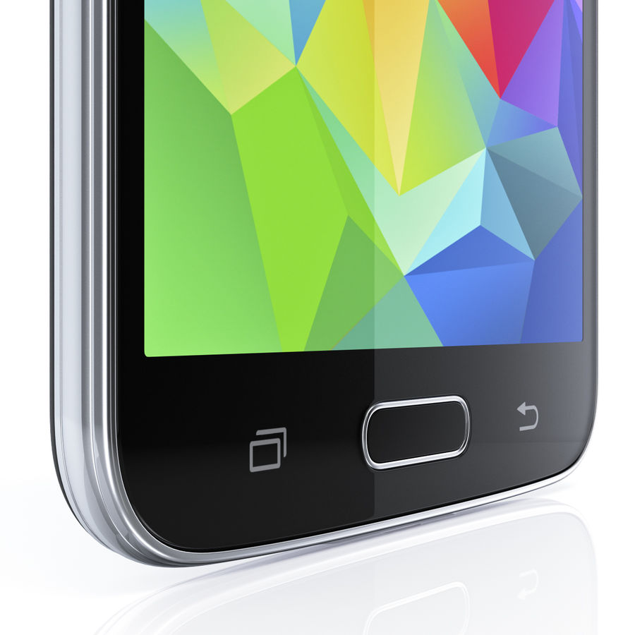 Samsung GALAXY S5 royalty-free 3d model - Preview no. 16