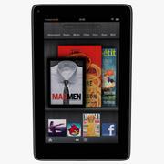 Tablet Kindle Fire 3d model