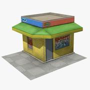 fazer compras 3d model