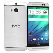 HTC One M8 Szary 3d model